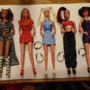 1989 Spice Girl Barbies